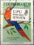 Stamps : America : Colombia :  Intercambio jlm 0,20 usd 2,50 pesos 1974