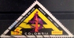 Stamps : America : Colombia :  Intercambio 0,35 usd 5 pesos 1969