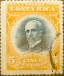 Sellos del Mundo : America : Costa_Rica : Intercambio 0,30 usd 5 cents. 1907