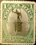 Sellos del Mundo : America : Costa_Rica : Intercambio 0,30 usd 1 cents. 1901