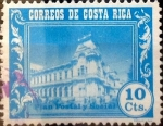 Stamps : America : Costa_Rica :  Intercambio 0,20 usd 10 cents. 1967