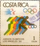Sellos de America - Costa Rica -  Intercambio crxf 0,20 usd 1 colon 1984