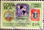 Sellos del Mundo : America : Costa_Rica : Intercambio 0,20 usd 1 colon 1976