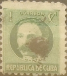 Stamps : America : Cuba :  1 cent. 1930