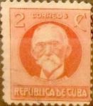 Stamps : America : Cuba :  Intercambio 0,20 usd 2 cents. 1917