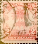 Stamps : America : Cuba :  2 cents. 1915