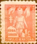 Sellos del Mundo : America : Cuba : Intercambio 0,20 usd 1 cent. 1956