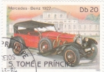 Stamps São Tomé and Príncipe -  MERCEDES BENZ 1927