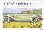Sellos de Africa - Santo Tomé y Principe -  MERCEDES CABRIOLET 1924