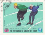 Sellos de Asia - Yemen -  OLIMPIADA DE GRENOBLE- 68