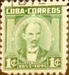 Sellos del Mundo : America : Cuba : Intercambio 0,20 usd 1 cent. 1954