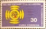 Sellos del Mundo : America : Cuba : Intercambio 0,80 usd 30 cents. 1965