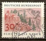 Sellos de Europa - Alemania -  Protege la naturaleza.