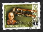 Stamps Mongolia -  Geoffrey de Havilland and D.H. 66 Hercules (1920s)
