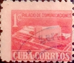 Stamps : America : Cuba :  1 cents. 1957