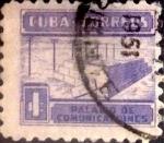 Sellos de America - Cuba -  Intercambio 0,20 usd 1 cents. 1951