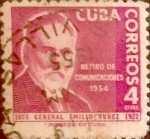 Sellos del Mundo : America : Cuba : Intercambio 0,20 usd 4 cents. 1955