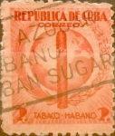 Sellos del Mundo : America : Cuba : Intercambio 0,20 usd 2 cents. 1939