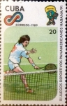 Sellos del Mundo : America : Cuba : Intercambio 0,65 usd 20 cents. 1989
