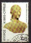 Stamps Asia - Cyprus -  CHIPRE 1962 Michel 208 SELLO ARTE ESCULTURA APOLLO TOMASUS YVERT 200 USADO