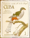 Stamps Cuba -  Intercambio m1b 0,45 usd 3 cents. 1971