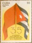 Stamps : America : Cuba :  Intercambio 1,60 usd 65 cents. 1996