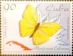 Sellos de America - Cuba -  Intercambio m1b 1,75 usd 90 cents. 1995