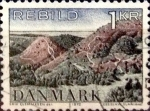 Stamps Denmark -  Intercambio 0,20 usd 1 krone 1972