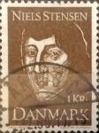 Sellos de Europa - Dinamarca -  Intercambio 0,20 usd 1 krone 1969