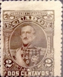Sellos de America - Ecuador -  Intercambio 1,00 usd 2 cents. 1892