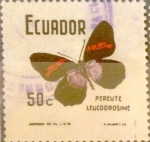 Stamps : America : Ecuador :  Intercambio 0,20 usd 50 cents. 1970