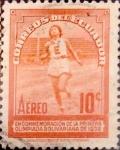 Sellos de America - Ecuador -  Intercambio nfxb 0,20 usd 10 cents. 1939