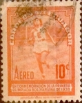 Stamps : America : Ecuador :  Intercambio 0,20 usd 10 cents. 1939