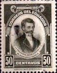 Stamps : America : Ecuador :  Intercambio 0,20 usd 50 cents. 1947