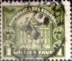 Sellos de America - Ecuador -  Intercambio 0,20 usd 1 cents. 1920