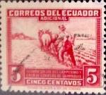 Sellos de America - Ecuador -  Intercambio 0,20 usd 5 cents. 1940