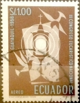 Stamps : America : Ecuador :  Intercambio 0,20 usd 1 Sucre 1958