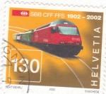 Stamps Switzerland -  CENTENARIO DEL FERROCARRIL