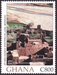 Stamps of the world : Ghana :  MARRUECOS - Ksar de Aït-Ben-Haddou