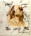 Sellos de Africa - Egipto -  Intercambio 0,20 usd 15 piastras 1993