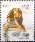 Sellos del Mundo : Africa : Egipto : 15 piastras 1993