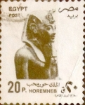 Sellos del Mundo : Africa : Egipto : 20 piastras 1993