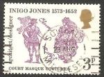 Sellos de Europa - Reino Unido -  691 - 400 anivº del nacimiento del arquitecto Inigo Jones