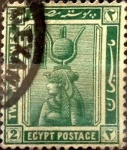 Sellos de Africa - Egipto -  Intercambio 0,20 usd 2 miles. 1914