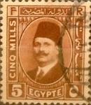 Sellos del Mundo : Africa : Egipto : Intercambio 0,40 usd 5 miles. 1929
