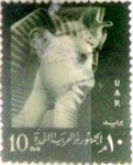 Stamps : Africa : Egypt :  10 miles. 1959