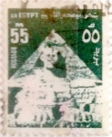 Sellos de Africa - Egipto -  Intercambio 0,50 usd 55 miles. 1974