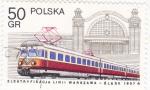 Sellos de Europa - Polonia -  TREN ELECTRICO
