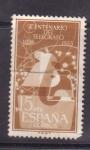 Stamps Spain -  Centenario del telegrafo