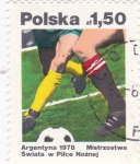 Sellos de Europa - Polonia -  MUNDIAL DE ARGENTINA-1978